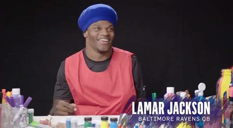 lamar jackson   talents drawing  ravens logo      baltimore sun