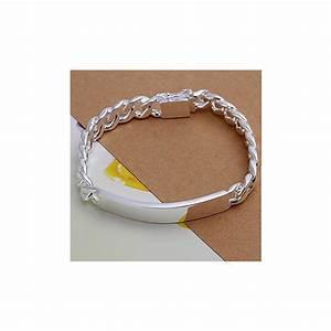 Bracelets argent hommes bracelets argent hommes for Bijoux en argent massif