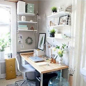 Büro Zuhause Einrichten : 18 tolle ideen wie du dein b ro zuhause sch n gestalten kannst b ro pinterest aufr umen ~ Frokenaadalensverden.com Haus und Dekorationen
