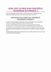 Amende Pour Defaut De Controle Technique : le guide du controle technique par ~ Maxctalentgroup.com Avis de Voitures