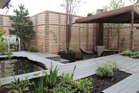 rendre une terrasse étanche planter des arbres pour avoir une for 234 t sur sa terrasse