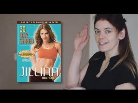 Review  Jillian Michaels 30 Day Shred Level 1 (dvd
