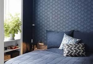 Tapete Schlafzimmer Blau. famous tapete schlafzimmer blau bf05 ...