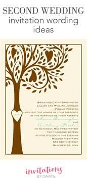 wedding invitation wording second wedding invitation wording invitations by