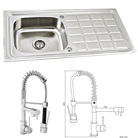 compact kitchen sinks stainless steel es3014 stainless steel kitchen sink reversible 1 0 bowl 8294
