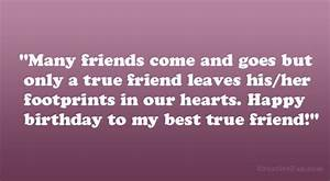 BEST FRIEND QUOTES FOR HER BIRTHDAY image quotes at ...