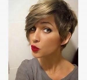 Coupe Courte Avec Meche : coiffure courte femme avec meches ~ Nature-et-papiers.com Idées de Décoration