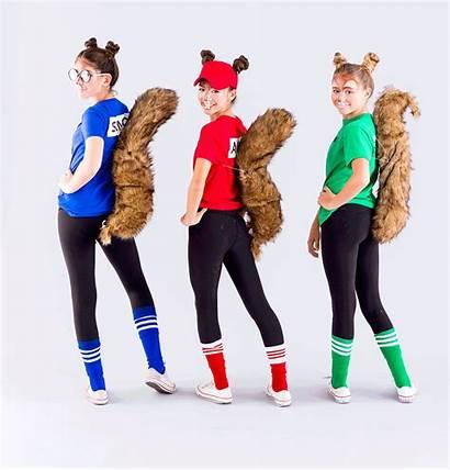 Costumes Halloween Diy Alvin Chipmunks Costume Easy