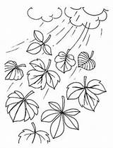 Coloring Wind Colouring Template Chimes Weather Preschool Rain Google sketch template