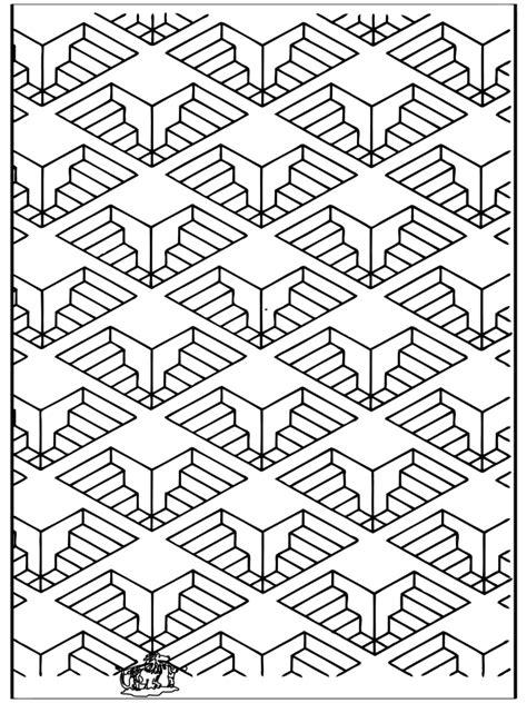 geometrische formen  kunst ausmalbilder