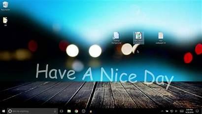 Desktop Change