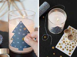 Kerze In Glas : die last minute adventskalender kerze ~ Sanjose-hotels-ca.com Haus und Dekorationen