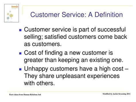 Definition Of Customer Service Exle by Ppt Your External And Customers Powerpoint