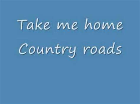 baixar letras take me home country roads