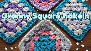 Granny Squares Häkeln : granny square klassisch mit farbwechsel h keln tutorial youtube ~ Orissabook.com Haus und Dekorationen