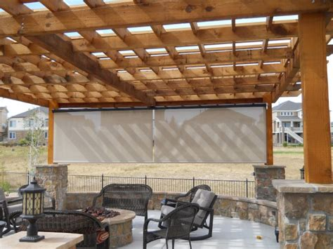 patio sun  wind screens  denver liberty home products