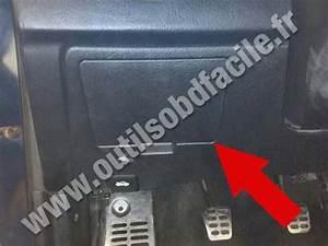 Obd2 Connector Location In Hyundai Coupe  2002