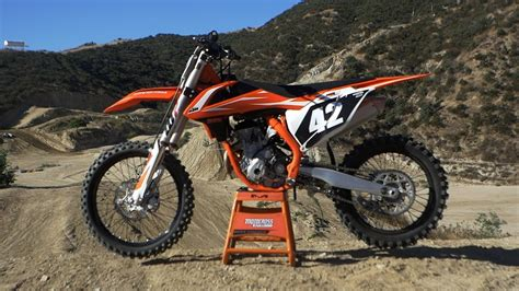 motocross action videos first ride 2018 ktm 250sxf motocross action magazine