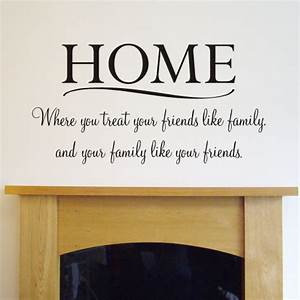 Wall decals quotes home quotesgram