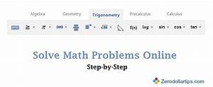 How To Solve Math Problems Online Step By Step