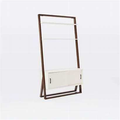 Shelf Ladder Westelm Console Shelves