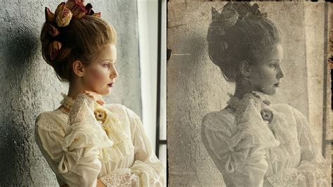 how to create vintage effect in photoshop retro look edit photoshopdesire