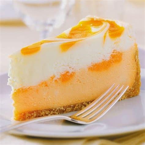 orange colored desserts creamsicle cheesecake recipe delicious recipes