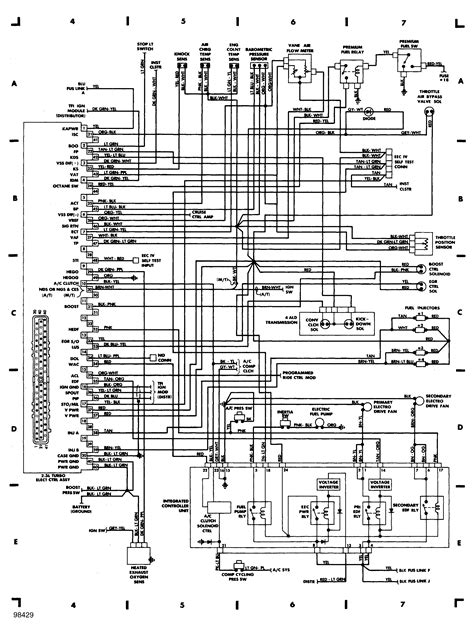 1988 Ford Thunderbird Turbo Coupe Wiring Diagram by 1988 Ford Thunderbird Turbo Coupe Wiring Diagram Camizu Org
