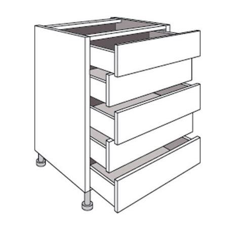 tiroir meuble cuisine meuble de cuisine bas avec 5 tiroirs twist cuisine