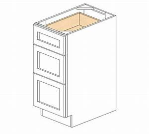 Db153 ice white shaker drawer base cabinet base for Kitchen colors with white cabinets with blank bumper sticker