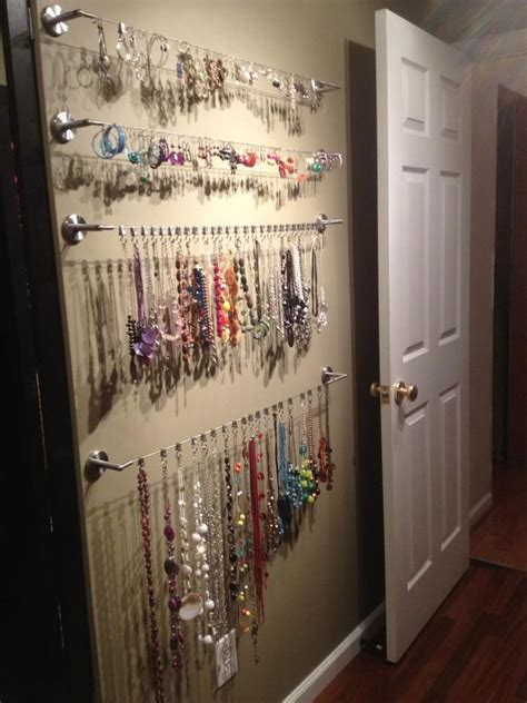 25 unique jewelry organizer wall ideas on