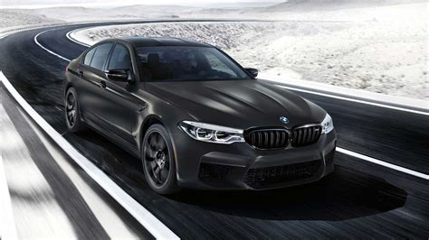 bmw  edition  years debuts   sinister  hp sedan