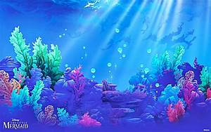 Little Mermaid wallpaper ·① Download free cool HD ...