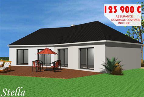 prix maison plain pied 3 chambres maison contemporaine dieppe oxygene construction modele