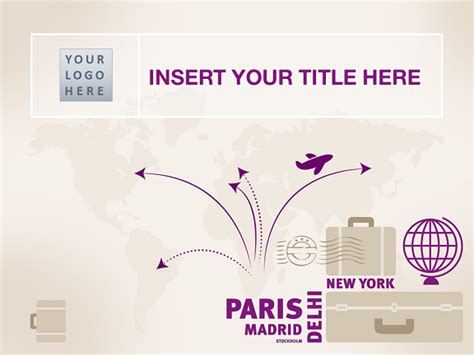 travel template  powerpoint  impress