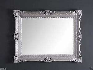 Barock Spiegel Silber : wandspiegel silber barock gro er spiegel antik 90x70 badspiegel retro repro neu kaufen bei ~ Indierocktalk.com Haus und Dekorationen