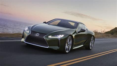 2020 Lexus LC 500 Inspiration Series Goes Green ...