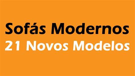 foto de Sofás Modernos: 21 Ideias YouTube