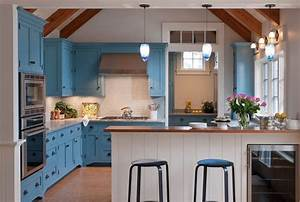 31, Awesome, Blue, Kitchen, Cabinet, Ideas
