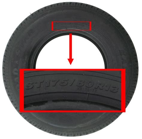 Boat Trailer Tires Sizes by Replacement Tire Size For 4 Winns 190 Horizon Boat Trailer