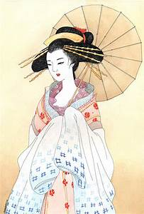 Geisha by kaminary-san on DeviantArt