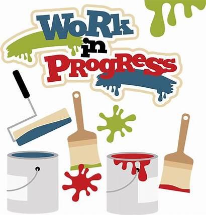 Progress Clipart Paint Svg Clip Misskatecuttables Cutting