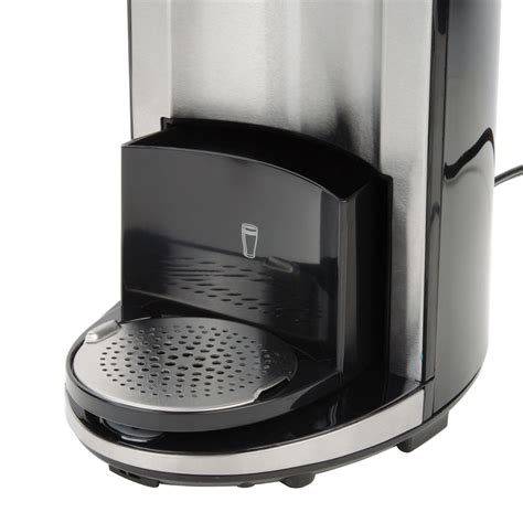 Single serve coffee makers help cut down on wasted coffee since guests can brew a single serving at a time. Hamilton Beach 49995 Black FlexBrew Single Serving Coffee Maker - 120V