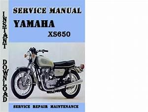 Yamaha Xs650 Service Repair Manual Pdf Download