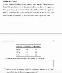 Wahrscheinlichkeit Berechnen : stochastik bedingte wahrscheinlichkeit berechnen richtung der elfmeter sch sse in tabelle ~ Themetempest.com Abrechnung