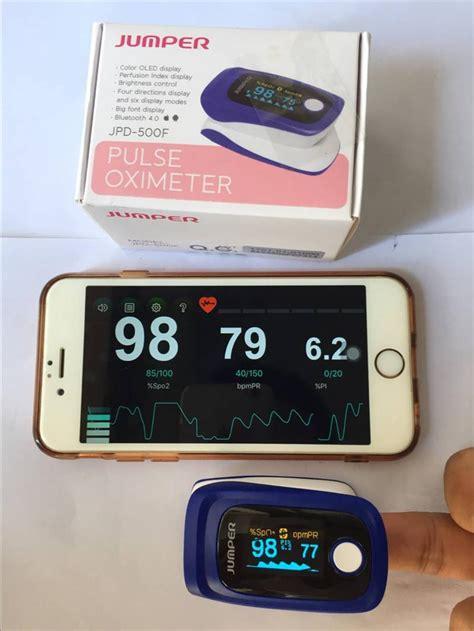 Jumper Brand Finger Pulse Oximeter Blood Oxygen Saturation