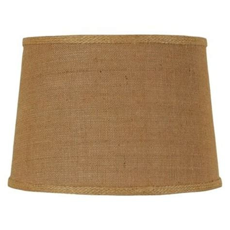 burlap l shades target threshold mix match burlap l shade medium brown