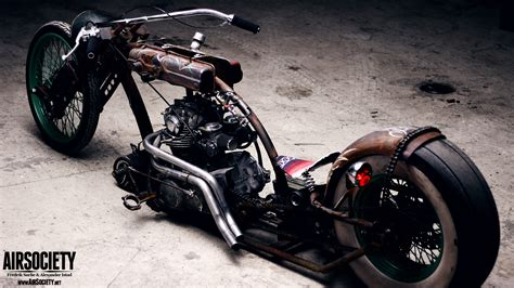 Rat Bike Hd Wallpapers