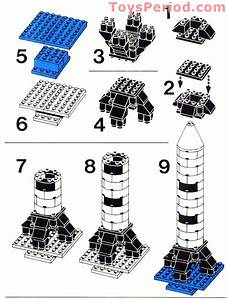 Lego 358 Rocket Base Set Parts Inventory And Instructions