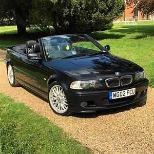 BMW 2002 325 CI M SPORT BLACK CONVERTIBLE car for sale